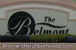 sign in front of The Belmont in North Lauderdale